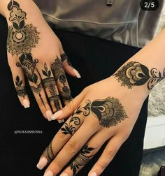 Most Original Henna Tattoo Designs for the Year 2019 - Page 34 of 42 - Tattoo Go! Khafif Mehndi Design, Floral Henna Designs, Finger Henna Designs, Mehndi Designs Feet, Modern Mehndi Designs, Mehndi Designs For Fingers, Mehndi Design Pictures, Beautiful Henna Designs, Latest Mehndi Designs