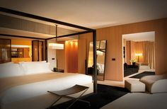 Suites and bedrooms of Bulgari Hotel resort Milan - Bulgari Hotel Resort