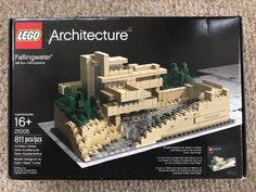 LEGO Architecture Fallingwater 21005 Retired Complete Box Instructions Booklet