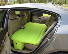 Travel bed for the car. There have been days where this would've been very useful.