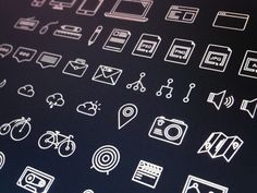 Hi guys i would love to present you my project!  As you know i was workin on the unique outlines icons and now they are done! I made more than 60 & for you, for FREE!   Reason, why i make for f...