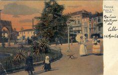 Verona - Balie in Piazza Brà - 1906