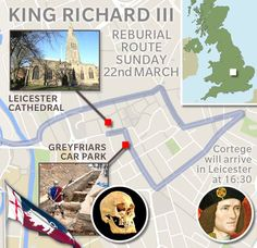 Last journey of a king: Richard III funeral begins 500 years after he was slain in battle | UK | News | Daily Express