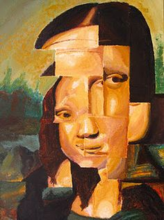 painting final - mona makeover: research artist style. makeover the mona lisa