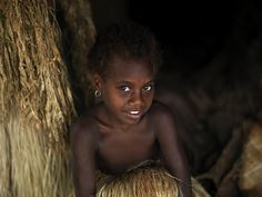 girl in Yakel, Vanuatu by Eric Lafforgue