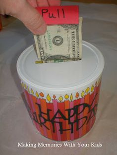 Fun Ways to Give Money as a Gift! « Happy Home Fairy