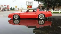 TransAm ... my first purchased car... great road trip partner!