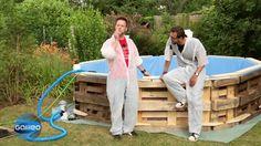 Wer träumt nicht vom hauseigenen Schwimmbad im Garten! Für viele allerdings einfach zu teuer. Doch wie wäre es, wenn man selbst zum Hammer greift? Wir zeigen, wie man für kleines Geld große Abkühlung bekommt.