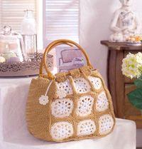 Crochet Grandmother-bag