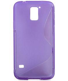 S-Curve TPU Case Samsung G900F Galaxy S5 Purple