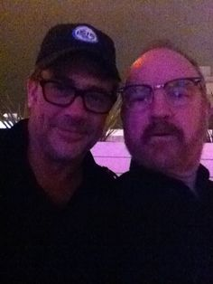 """the winchester dads!! """"Can you believe last night was the first time I ever met JDM? GREAT guy."""" Camera+ ~ photo by jumblejim"""