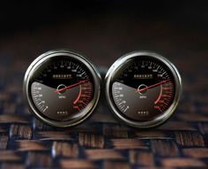 Speedometer Cufflinks, Car Speedometer Cuff Links, Trending Cufflinks, Fun Gifts For Men Race Car, Car Cufflinks, car lover gift