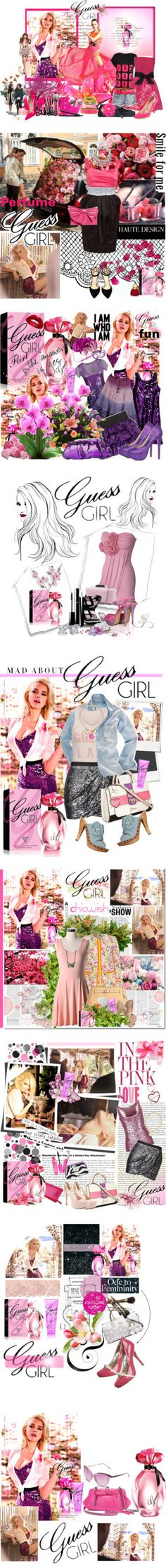 """""""Guess Girl"""" by alicekaur ❤ liked on Polyvore"""