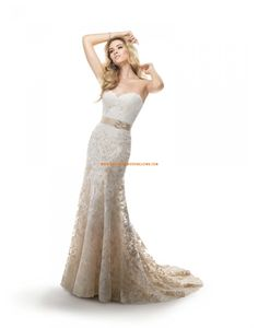 Sirène Inspiration vintage Lacets Robes de mariée 2014