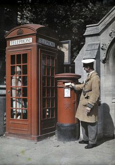 vintage everyday: Colour photographs of England, 1928 Autochromes taken by Clifford R. Adams in England in 1928 for National Geographic.
