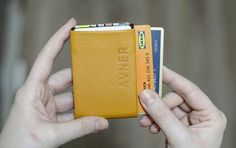 Minimalist Wallets with RFID Blocking for Mens & Womens