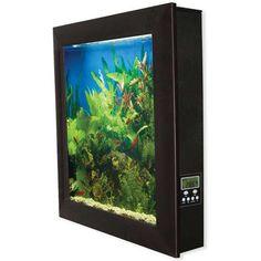 Belshazzar would love this- Aquavista Wall Mounted Aquarium Nature Aquarium, Home Aquarium, Aquarium Fish Tank, Aquarium Ideas, Aquarium Design, Fish Tank Wall, Fish Tank Design, Cool Fish Tanks, Amazing Aquariums