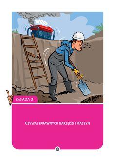 TAURON Ciepło | Kampania BHP | Plakat z serii 15 zasad BHP