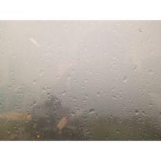 Pitter patter heavy rainfall