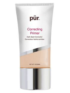 Even Skin Tone:  Apply a peach-tinted primer to smooth wrinkles, minimize age spots and reduce dark eye circles.  Pür Minerals Correcting Primer Dark Spot Corrector, $31; Amazon.com