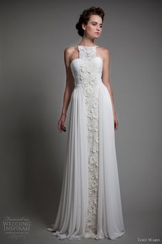 tony ward 2013 wedding dresses freesia gown