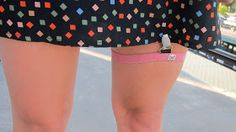 the citybirds nest: what i wore: bicycle skirt garter, a review!