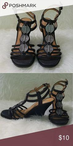 b287f542497 I just added this listing on Poshmark  Fergie Wedge Sandals.  shopmycloset   poshmark