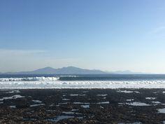 Big swell. Muelle de Corralejo,Fuerteventura