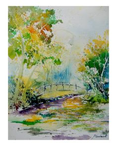 Watercolor 90802 Giclee Print by Ledent at Art.com