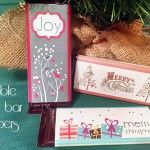 Printable candy bar wrappers {101 Days of Christmas}