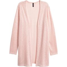 Fine-knit Cardigan $12.99 (€11) ❤ liked on Polyvore featuring tops, cardigans, jackets, outerwear and sweaters