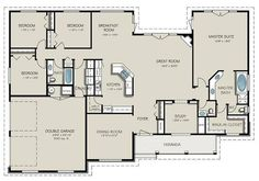 With a few simple modifications, this is my favorite floor plan so far.: