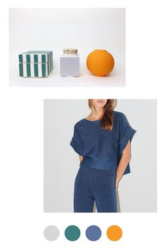 The Granite Mara Hoffman on The Dreslyn on Color Collective Color Trends, Color Combinations, Pantone 2015, Mood Colors, Colours, World Of Color, Color Swatches, Color Theory, Surface Design
