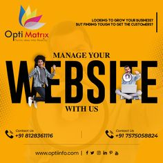Looking for a customer visit to your business? But finding it tough to get the customers? Why not make your website a global reach which can avail on one click to your customer? Get a Static/Dynamic website for your business growth. 🖥️ www.optiinfo.com 📩 info@optiinfo.com 📲 +91 8128361116 / 7575058824 🔗 wa.me/918128361116 #growonline #design #brand #brandingdesign #branding #brandpromotion #onlinemarketing #digitalmarketing #marketing #advertising Website Design Services, Website Design Company, Online Marketing, Digital Marketing, Branding Design, Logo Design, Brand Promotion, Growing Your Business, Advertising