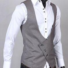 MEN'S Premium Diagonal line vest