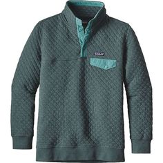 Patagonia Women's Cotton Quilt Snap-T Pullover - at Moosejaw.com