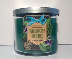 Bath  Body Works Market Herbs 3 Wick Scented Candle 145 oz411 g ** Read more at the image link.