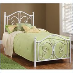 $299 - Hillsdale Ruby Bed in Textured White - Twin