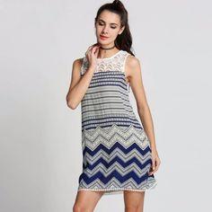 Tolles Sommerkleid mit Spitze