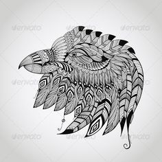 Tattoo Eagle Head