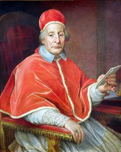 * Papa Clemente XII * (246º Papa). Nome: Lorenzo Corsini. (* Florença, 07/Abril/1652 - Roma, 06/Fevereiro/1740).