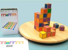 Memm appears to be a simple game, made of 36 cubes in different colours, but it hides multiple challenges full of variations. It is very dynamic and entertaining. Besides it works really well as a gift due to its aesthetic quality. The idea for Memm started as a game similar to a domino, with 3 dimensions and 6 sides, although it has evolved to something entirely different. #boardgames #illustration #cardgames #games #crowdfunding #inventurecloud