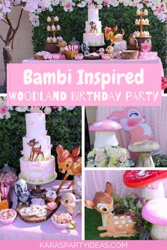 Bambi Inspired Woodl