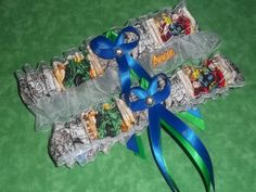 Handmade wedding garters keepsake and toss by lilBittythings, $28.00