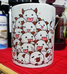 Poro Bunch  League of Legends coffee mug by linkitty on Etsy
