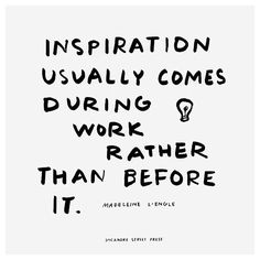 Where do you find inspiration? #EvasEverydayLettering