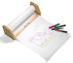 Melissa & Doug's tabletop paper roll dispenser | Eco-Friendly Products - http://Parenting.com