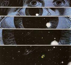 Картинка с тегом «eyes, space, and galaxy»