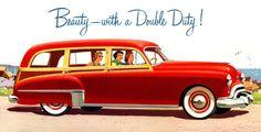 "1949 Oldsmobile Futuramic - 1950s Design - Vintagraph "" The 1949 Oldsmobile Futuramic station wagon. """