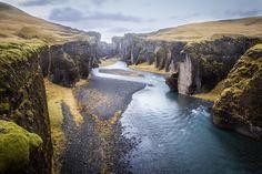 Fjaðrárgljúfur - Fjaðrárgljúfur, Islandia